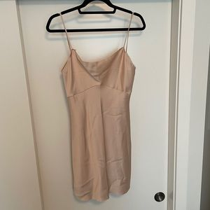 NEW WITH TAGS Zara Nude Slip Dress